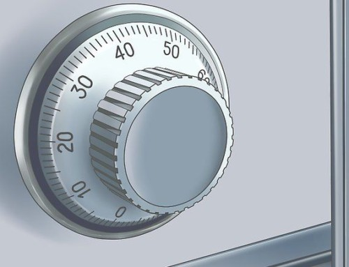 Návod jak otevřít mechanický kombinační zámek 3-číselný