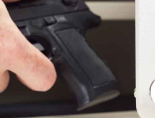Trezory na zbraně a pistole