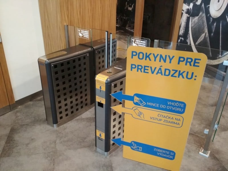 turniket wc platebni automat na mince