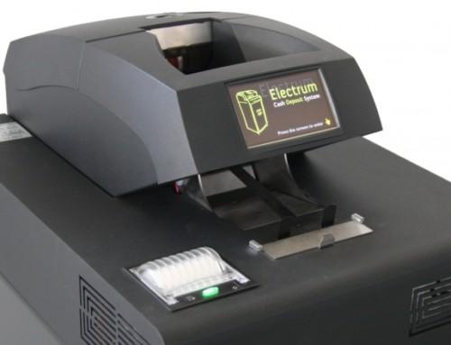 Depozitní terminál – automat na bankovky a mince s trezorem