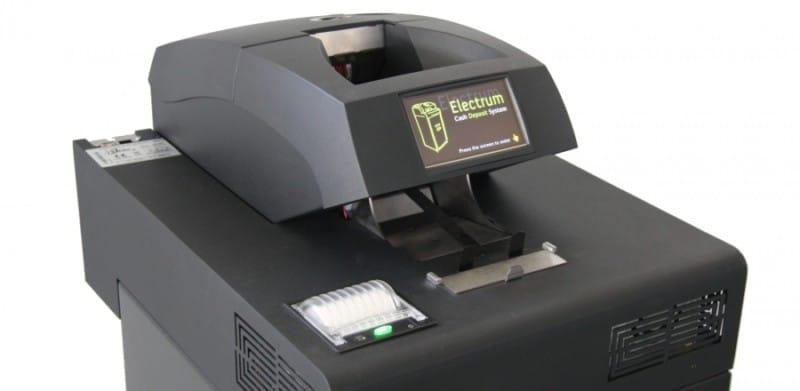 automatický trezor depozitní terminál